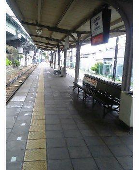 汐見橋線にて
