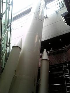 ロケット発射?