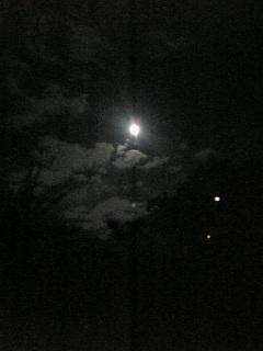 皆既月食の夜