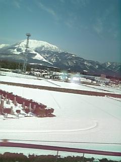 雪景色の伊吹山