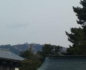 山焼き後の若草山