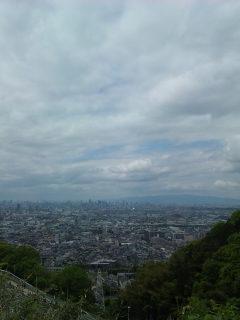 大阪市街地方向