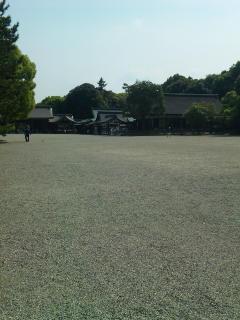 橿原神宮にて