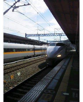 新尾道駅にて