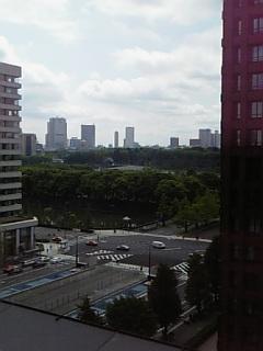 新丸ビルからの景色